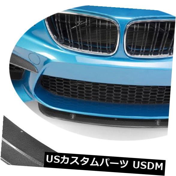 カーボン素材 BMW M2 F87カーボンファイバーレーシングフロントバンパーリップチンスポイラー2016-2018に適合 Fit For BMW M2 F87 Carbon Fiber Racing Front Bumper Lip Chin Spoiler 2016-2018