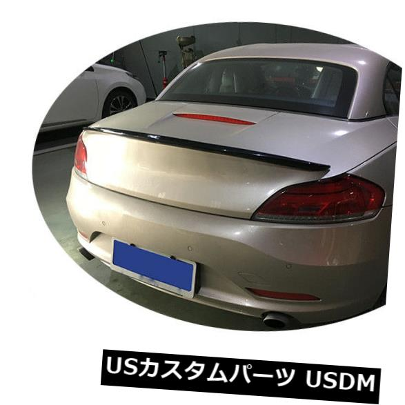 カーボン素材 BMW Z4 E89 09-14用カーボンファイバーリアブーツウィングテールトランクスポイラー蓋フィット Carbon Fiber Rear Boot Wing Tail Trunk Spoiler Lid Fit for BMW Z4 E89 09-14