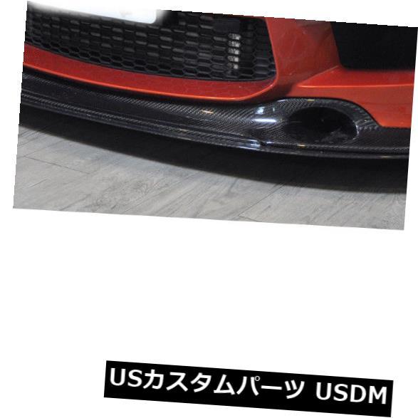 カーボン素材 BMW 1M 1シリーズ2011-2013に適合したカーボンファイバーフロントバンパーリップチンファクトリー Carbon Fiber Front Bumper Lip Chin Factory Fit For BMW 1M 1 Series 2011-2013