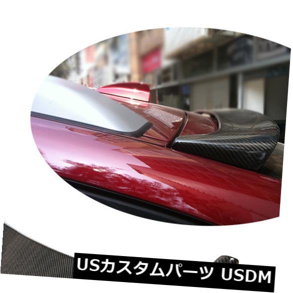 カーボン素材 BMW E71 X6 X6M 2008-2014リアトランクスポイラールーフウィングリップカーボンファイバー用 For BMW E71 X6 X6M 2008-2014 Rear Trunk Spoiler Roof Wings Lip Carbon Fiber