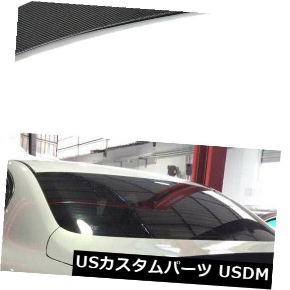 カーボン素材 インフィニティセダンG25 11-12 G37 09-13用カーボンファイバーリアトランクスポイラーウィングフィット Carbon Fiber Rear Trunk Spoiler Wing Fit for Infiniti Sedan G25 11-12 G37 09-13