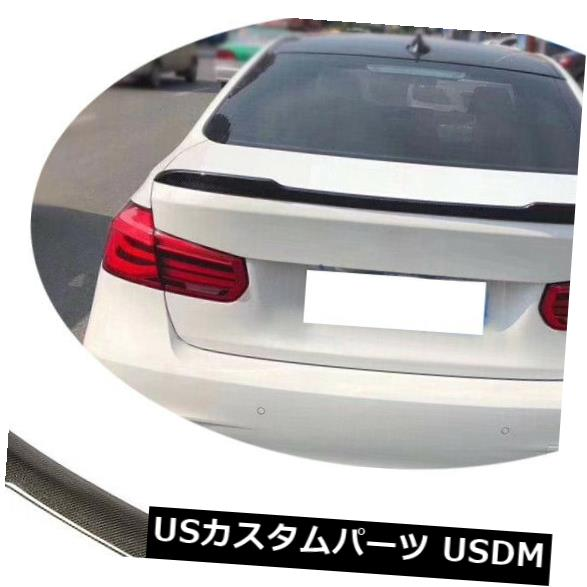 カーボン素材 Carbon Fiber Rear Trunk Spoiler Wing For BMW F30 335i 320i 340i & F80 M3 2013-18