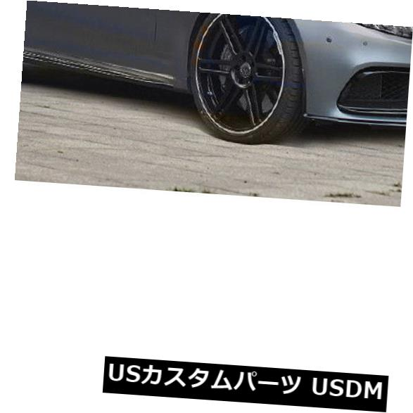 カーボン素材 ベンツCクラスC205 C63 AMGクーペ15-17用フロントバンパーリップボディキットカーボンファイバー Front Bumper Lip Bodykit Carbon Fiber For Benz C-Class C205 C63 AMG Coupe 15-17