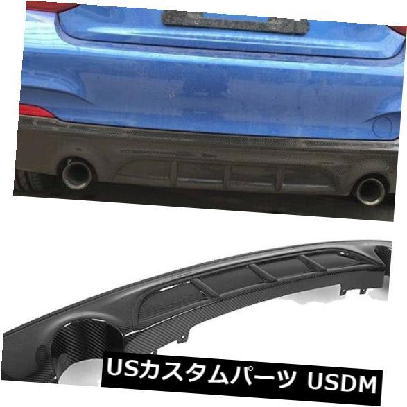 カーボン素材 BMW F22 220i 228i 235i M Sport 14-17に適合したカーボンファイバーリアバンパーディフューザー Carbon Fiber Rear Bumper Diffuser Fit For BMW F22 220i 228i 235i M Sport 14-17