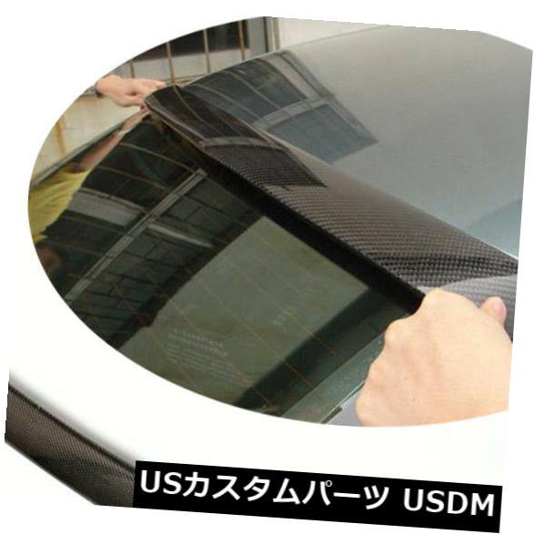 カーボン素材 カーボンファイバーリアルーフスポイラートランクウィングリップリフィットアウディA4 B8 2009-2012 Carbon Fiber Rear Roof Spoiler Trunk Wing Lip Refit Fit For Audi A4 B8 2009-2012