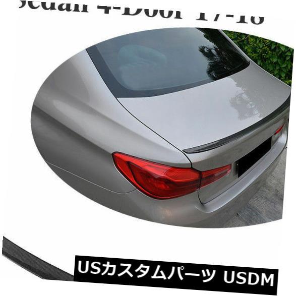 カーボン素材 BMW 5シリーズG30 530i 540i M5 F90 17-18用カーボンファイバーリアトランクスポイラーウィング Carbon Fiber Rear Trunk Spoiler Wing For BMW 5 Series G30 530i 540i M5 F90 17-18
