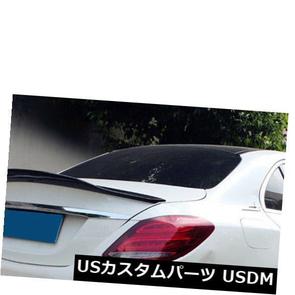 カーボン素材 カーボン製メルセデスW205 C200L C300L C260用リアトランクスポイラーブーツウイング Carbon Fiber Rear Trunk Spoiler Boot Wing Fit For Mercedes W205 C200L C300L C260