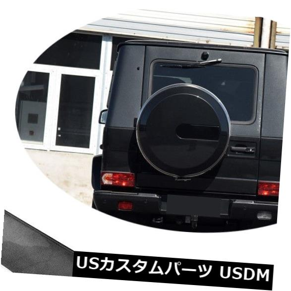 カーボン素材 カーボン製メルセデスベンツG500 G55 G65 G63 AMG用リアルーフスポイラーウィング Carbon Fiber Rear Roof Spoiler Wing W/LED For Mercedes Benz G500 G55 G65 G63 AMG