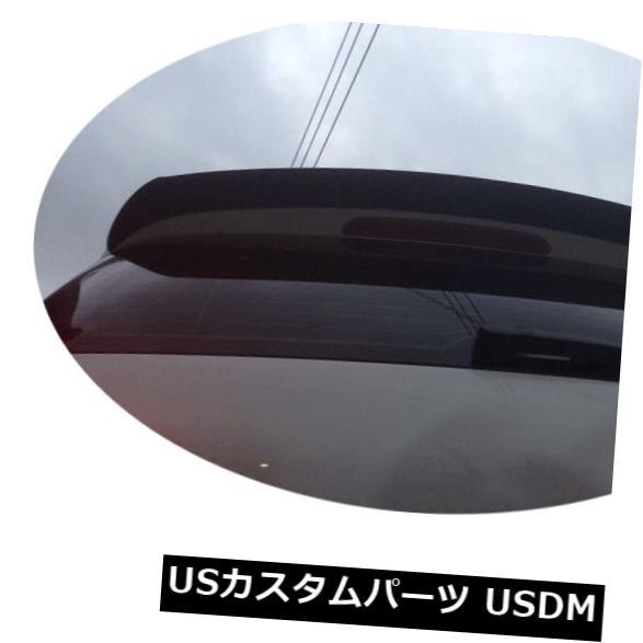 カーボン素材 カーボンフォルクスワーゲンVI MK6ゴルフ6 2010-13に適合したリアルーフスポイラーリップウイング Carbon Fiber Rear Roof Spoiler Lip Wing Fit for Volkswagen VI MK6 Golf 6 2010-13