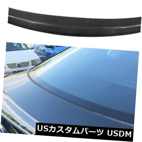 カーボン素材 BMW X6 F16 xDriveシリーズ15-16リアブーツスポイラーテールウイングカーボンファイバーに適合 Fit For BMW X6 F16 xDrive Series 15-16 Rear Boot Spoiler Tail Wing Carbon Fiber