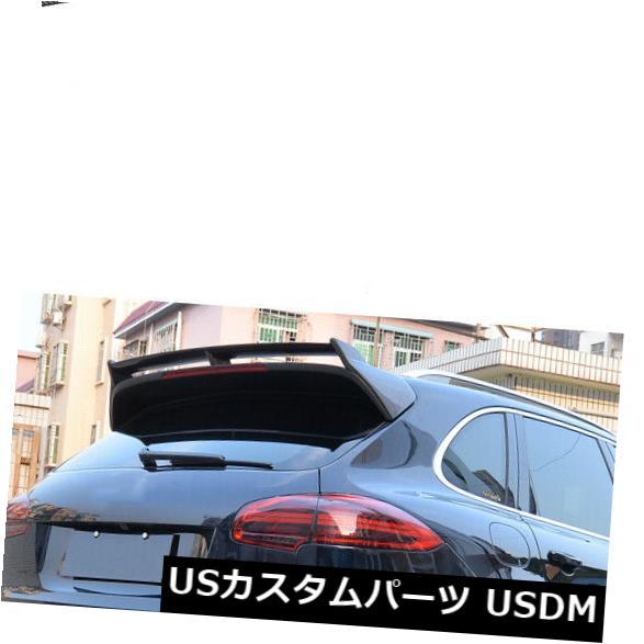 カーボン素材 ポルシェカイエン4ドア15-17に適したカーボンファイバーリアルーフスポイラートランクウイング Carbon Fiber Rear Roof Spolier Trunk Wing Fit For Porsche Cayenne 4-Door 15-17