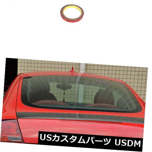 カーボン素材 カーボンファイバーリアトランクスポイラーオートテールウィングフィットアウディMk2 TT 8J TTS 08-14 Carbon Fiber Rear Trunk Spoiler Auto Tail Wing Fit for Audi Mk2 TT 8J TTS 08-14