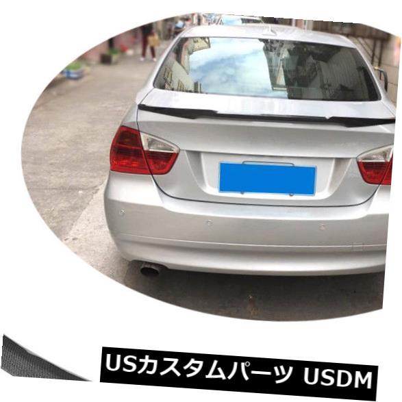 カーボン素材 E90 3Series 325i 335i 328i 330i M3 2005-2011用カーボンファイバーリアスポイラーウィング Carbon Fiber Rear Spoiler Wing For E90 3Series 325i 335i 328i 330i M3 2005-2011