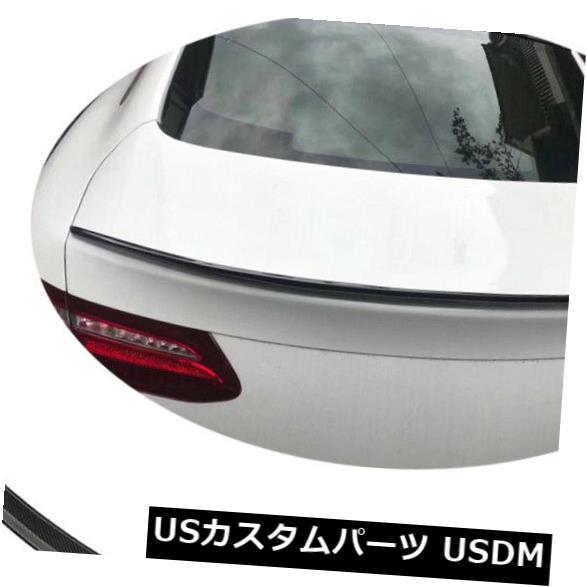 カーボン素材 カーボンベンツC238 E400 E450 E500 17-19のための後部トランクのスポイラーのふたの翼 Carbon Fiber Rear Trunk Spoiler Lid Wing For Benz C238 E400 E450 E500 17-19