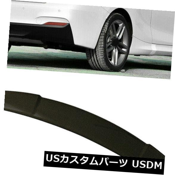 カーボン素材 BMW 2シリーズF22 F87 M2 228i 14-16用カーボンファイバーリアトランクスポイラーブーツウィング Carbon Fiber Rear Trunk Spoiler Boot Wing For BMW 2 Series F22 F87 M2 228i 14-16
