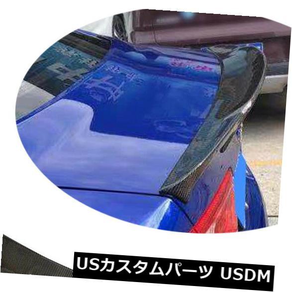 カーボン素材 ジャガーXE XELカーボンファイバーリアトランクスポイラーテールウィング16-18カスタマイズに適合 Fits Jaguar XE XEL Carbon Fiber Rear Trunk Spoiler Tail Wing 16-18 Customized