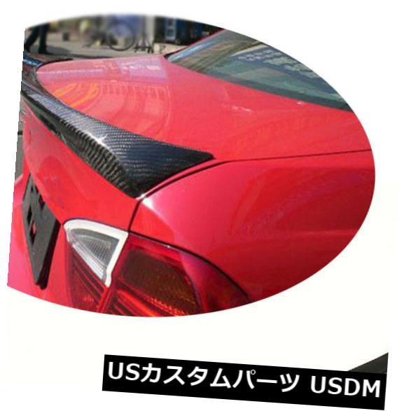 カーボン素材 BMW E90 M3 2005-2012 4ドアリアトランクスポイラーテールウイングカーボンファイバーに適合 Fit For BMW E90 M3 2005-2012 4Door Rear Trunk Spoiler Tail Wing Carbon Fiber