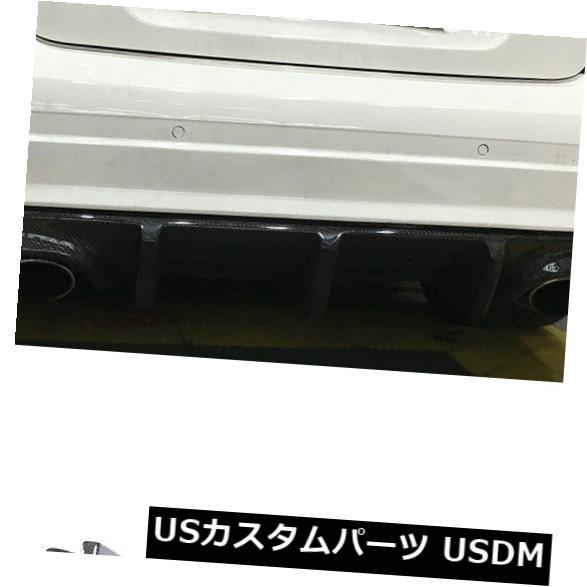 カーボン素材 カーボン製メルセデスベンツW204 C63 AMG 2008-11用リアバンパーディフューザーリップフィット Carbon Fiber Rear Bumper Diffuser Lip Fit For Mercedes Benz W204 C63 AMG 2008-11