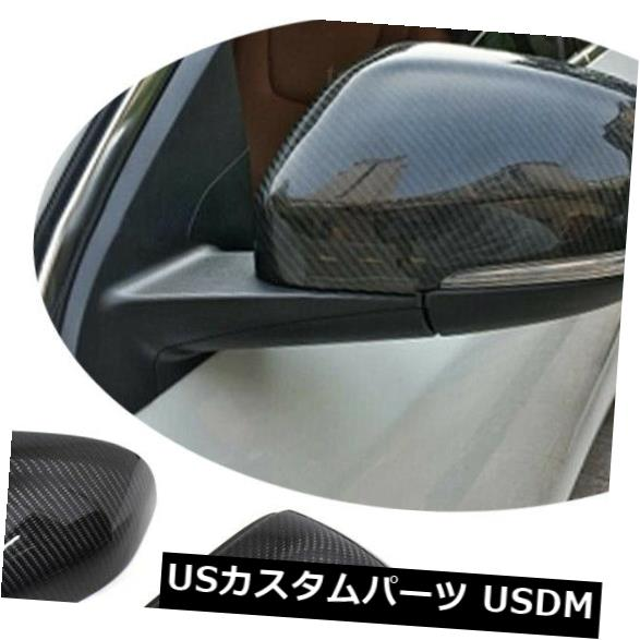 カーボン素材 ボルボV40 V60 S60 12-17交換用カーボンファイバーサイドミラーカバーキャップ2PCS Carbon Fiber Side Mirror Cover Cap 2PCS For Volvo V40 V60 S60 12-17 Replacement