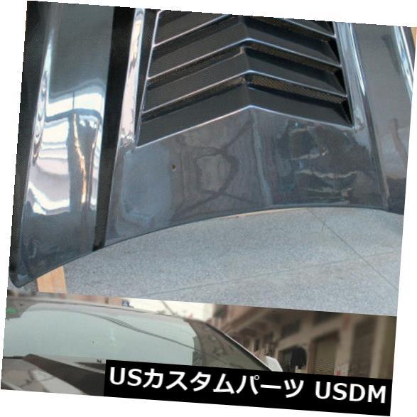 カーボン素材 キャデラックCTS-Vクーペセダンフロントバンパーフードカバーボンネット蓋炭素繊維 For Cadillac CTS-V Coupe Sedan Front Bumper Hood Cover Bonnet Lid Carbon Fiber