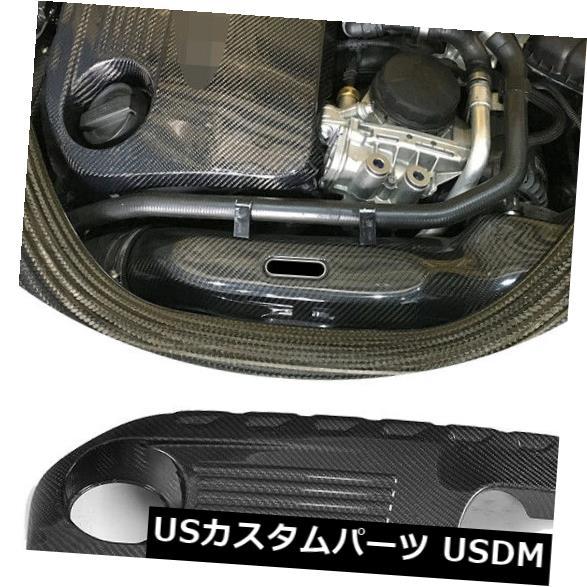 カーボン素材 BMW MシリーズF80 M3 F82 F83 M4 14-17に適合したカーボンファイバーエンジンカバートリムフード Carbon Fiber Engine Cover Trim Hood Fit For BMW M Series F80 M3 F82 F83 M4 14-17