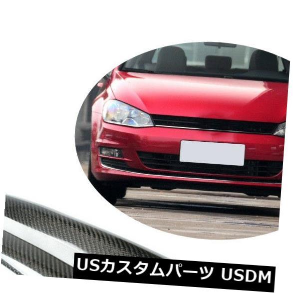 カーボン素材 カーボンファイバーフロントヘッドライトまぶた眉毛トリムフィットVWゴルフMK6 VI R20 GTI Carbon Fiber Front Headlight Eyelid Eyebrows Trim Fit for VW golf MK6 VI R20 GTI