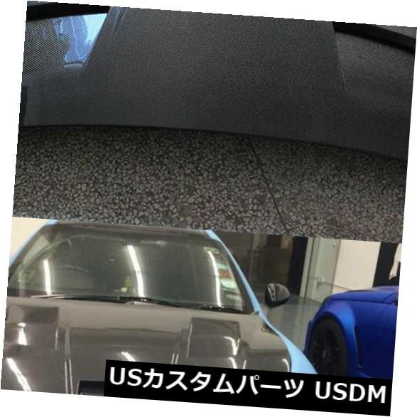 カーボン素材 マセラティグランツーリスモ2D 08-13に適合したカーボンファイバーフロントエンジンフードカバー Carbon Fiber Front Engine Hood Cover Refit Fit for Maserati GranTurismo 2D 08-13