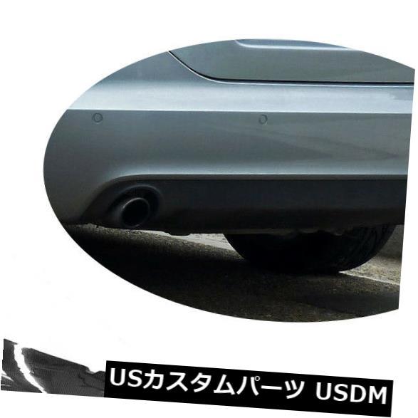 カーボン素材 カーボン繊維アウディA6 C6標準09-11非Sライン用リアバンパーリップスポイラー Carbon Fiber Rear Bumper Lip Spoiler For Audi A6 C6 Standard 09-11 Non S Line