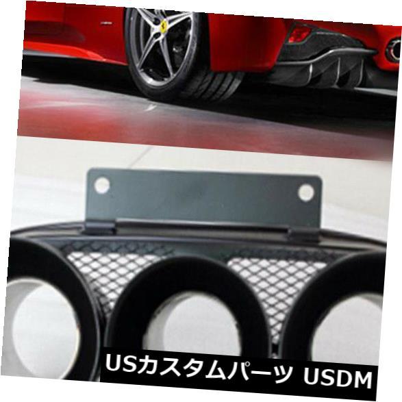 カーボン素材 カーボンファイバー製エキゾーストパイプマフラーのヒントは、Ferrari 458 Italia Coupe 10-15に適合 Carbon Fiber Exhaust Pipes Muffler Tips Fit for Ferrari 458 Italia Coupe 10-15