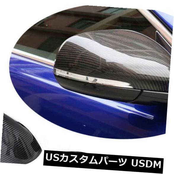 カーボン素材 ジャガーXE XK XF XJ XEL XFLに適合カーボンファイバーミラーカバーキャップ交換工場 Fits Jaguar XE XK XF XJ XEL XFL Carbon Fiber Mirror Cover Cap Replaced Factory