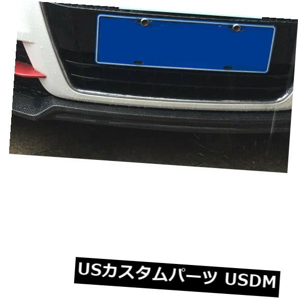 カーボン素材 AUDI TT 13-14 TTS 08-13カーボンファイバー用フロントバンパーリップスポイラーチンボディキット Front Bumper Lip Spoiler Chin Bodykit For AUDI TT 13-14 TTS 08-13 Carbon Fiber