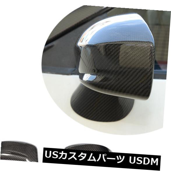 カーボン素材 日産R35 GT-R 09-15に適合した3セットカーボンファイバーミラーキャップカバールーフアンテナ 3Set Carbon Fiber Mirror Caps Cover Roof Antenna Fit for Nissan R35 GT-R 09-15