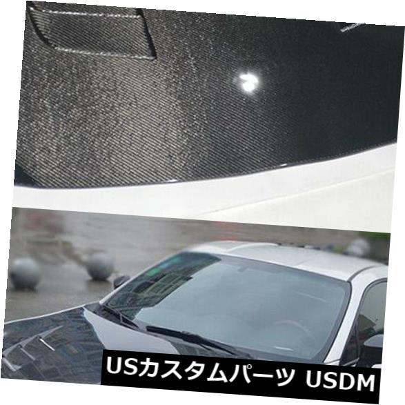 カーボン素材 トヨタ86スバルBRZ 13-14のためのカーボン繊維の自動エンジンカバーボンネットのフードのふた Carbon Fiber Auto Engine Cover Bonnet Hood Lid For Toyota 86 Subaru BRZ 13-14