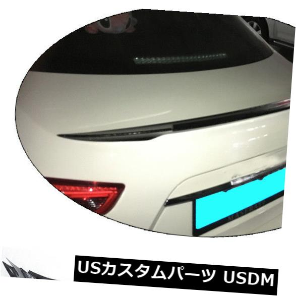 カーボン素材 マセラティジブリS Q4 4ドア14-17リアスポイラーウイングフロントリップカーボンファイバー For Maserati Ghibli S Q4 4Door 14-17 Rear Spoiler Wing Front Lip Carbon Fiber