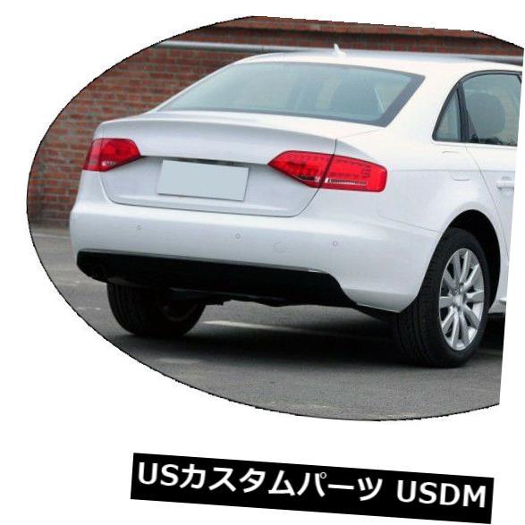 カーボン素材 アウディA4 B8 2009-2012セダンカーボンファイバー用リアトランクスポイラーブーツウイングリップ Rear Trunk Spoiler Boot Wing Lip for Audi A4 B8 2009-2012 Sedan Carbon Fiber