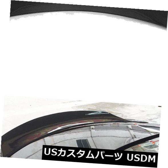 カーボン素材 08-13 Infiniti G37 2Door High Kickリアトランクスポイラーリッドウィングカーボンファイバーに適合 Fits 08-13 Infiniti G37 2Door High Kick Rear Trunk Spoiler Lid Wing Carbon Fiber