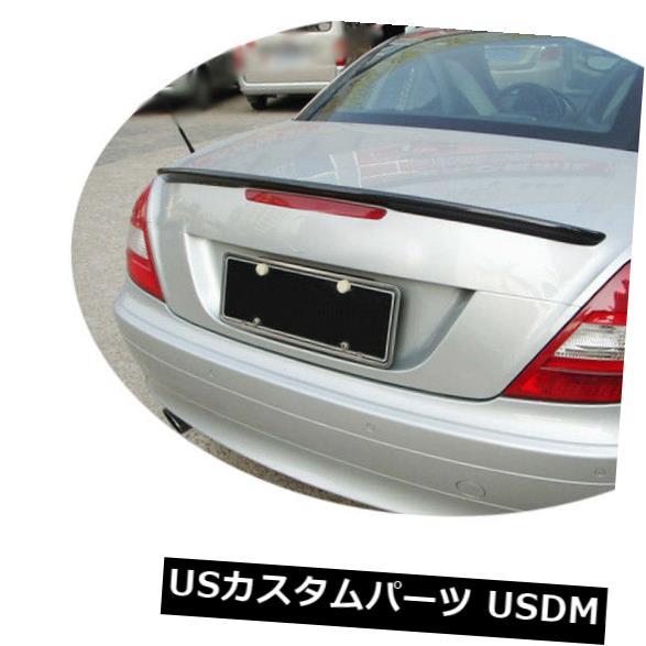 カーボン素材 メルセデスベンツSLK R171 09-11リアトランクスポイラーリッドウィングカーボンファイバーに適合 Fit for Mercedes Benz SLK R171 09-11 Rear Trunk Spoiler Lid Wing Carbon Fiber