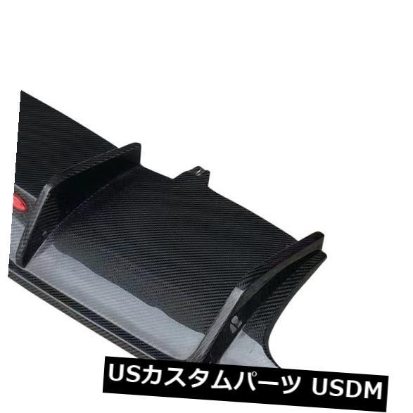 カーボン素材 アウディA4 Sラインリアバンパーディフューザーリップボディキットカーボンファイバー17-18工場に適合 Fits Audi A4 S-line Rear Bumper Diffuser Lip Bodykit Carbon Fiber 17-18 Factory