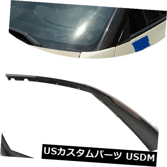 カーボン素材 2009-2015日産R35 Aピラー日産GT-R GTR車ウィンドウパネルインナートリム For 2009-2015 Nissan R35 A Pillar Nissan GT-R GTR Car Window Panel Inner Trims