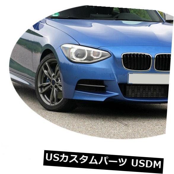 カーボン素材 BMW F20 135i M Sport M Tech 12-13フロントバンパーリップチンスポイラーカーボンファイバー用 For BMW F20 135i M Sport M Tech 12-13 Front Bumper Lip Chin Spoiler Carbon Fiber