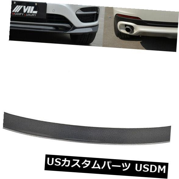 カーボン素材 1セットフロントバンパーリップリアトランクスポイラーウィングカーボンファイバーフィットBMW X6 15-16 1Set Front Bumper Lip Rear Trunk Spoiler Wing Carbon Fiber Fit for BMW X6 15-16