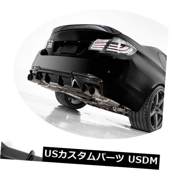 カーボン素材 BMW F10 M-スポーツ528i 535i 550i 12-16用カーボンファイバーリアバンパーディフューザーリップ Carbon Fiber Rear Bumper Diffuser Lip for BMW F10 M-Sport 528i 535i 550i 12-16