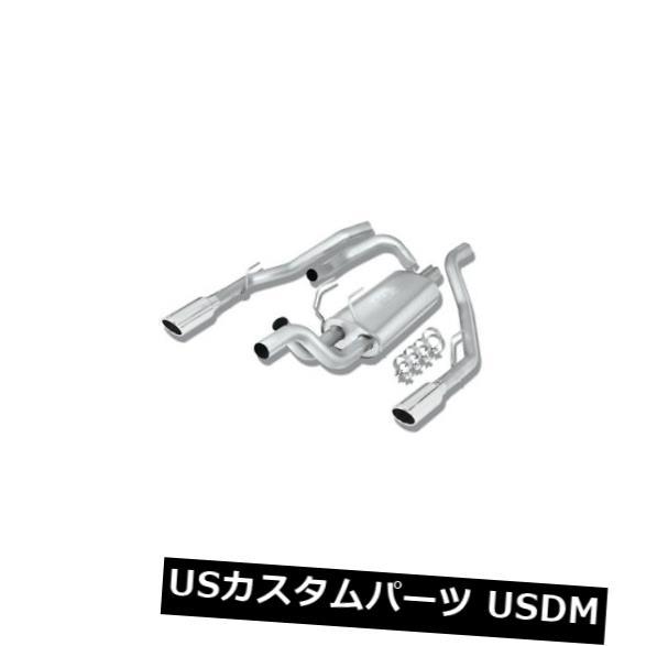 輸入マフラー Borla Cat-Back? Ram 1500 2009-2018の排気Sタイプパーツ番号140308 Borla Cat-Back? Exhaust S-Type part # 140308 for Ram 1500 2009-2018