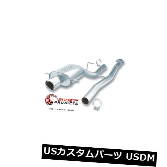 輸入マフラー スバル02-07 WRX / 04-07 WRX STI 140075のBorla Cat-Back Exhaust S-Type Borla Cat-Back Exhaust S-Type for Subaru 02-07 WRX / 04-07 WRX STI 140075