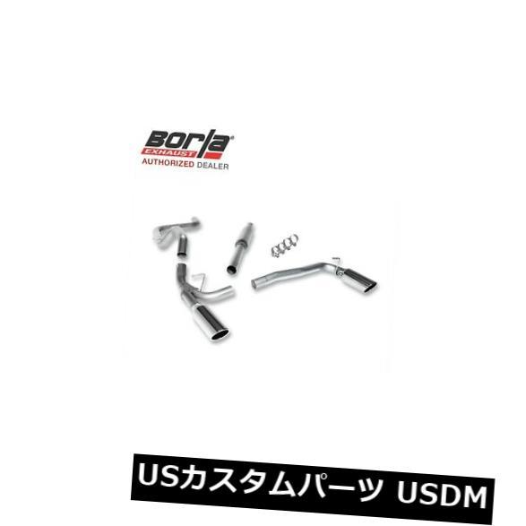 輸入マフラー BORLA 140070キャットバックエキゾーストシステム2003-2005ダッジNEON SRT-4 2.4LターボSRT4 BORLA 140070 Cat-Back Exhaust System 2003-2005 Dodge NEON