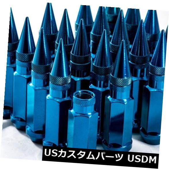 車用品・バイク用品 >> 車用品 >> タイヤ・ホイール >> ロックナット USナット 92mm AodHan XT92 12X1.5スチールブルースパイクラグナットフィットScion Xb Xa Tc Frs 92mm AodHan XT92 12X1.5 Steel Blue Spiked Lug Nuts Fits Scion Xb Xa Tc Frs