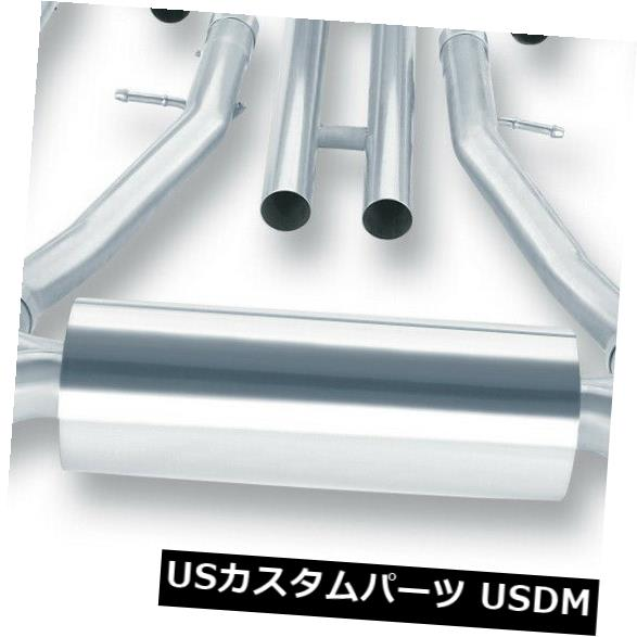 輸入マフラー Borla 140260 Sタイプキャットバックエキゾーストシステムは08-13 G37に適合 Borla 140260 S-Type Cat-Back Exhaust System Fits 08-13 G37