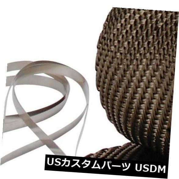 輸入マフラー デザインエンジニアリング010123パイプラップおよびロッキングタイキット Design Engineering 010123 Pipe Wrap And Locking Ties Kit お歳暮 売れ行きがよい 無条件返品・交換