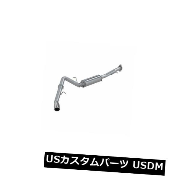 """輸入マフラー MBRP S5044409 3 """"""""キャットバックエキゾーストシステム-シングルサイド、タホ/ユーコン5.3L用 MBRP S5044409 3"""""""" Cat-Back Exhaust System - Single Side, For Tahoe/Yukon 5.3L"""