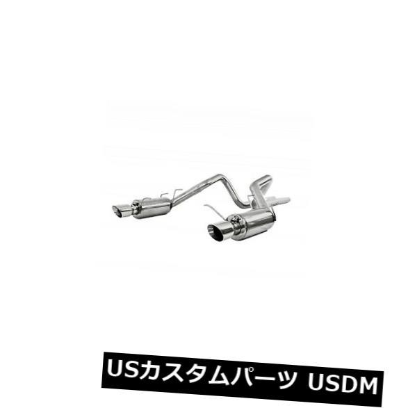 輸入マフラー S7258al MbrpエキゾーストS7258alインストーラーシリーズキャットバックエキゾーストシステムフィット11 14 S7258al Mbrp Exhaust S7258al Installer Series Cat Back Exhaust System Fits 11 14